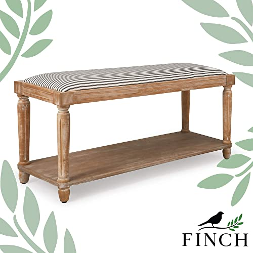 Finch Graydon Upholstered Bench
