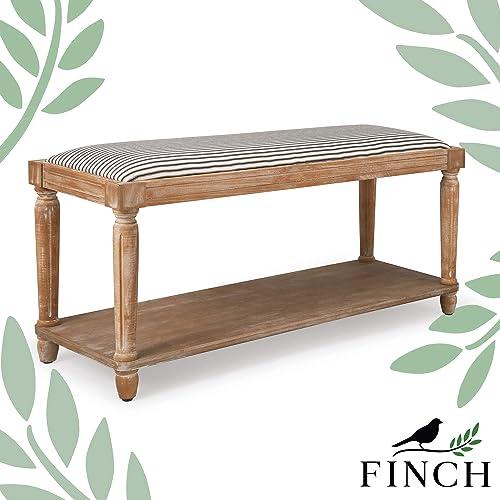 Finch Graydon Upholstered Bench