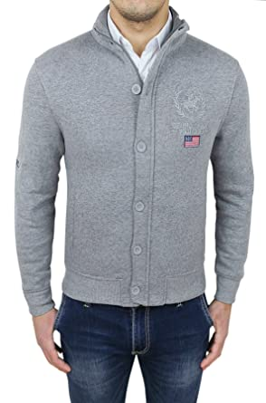 Beverly Hills Polo Club - Chaqueta Impermeable - para Hombre Gris ...