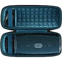 co2CREA Étui de Voyage Rigide Housse Cas pour JBL Charge 4 Enceinte Portable (Bleu)