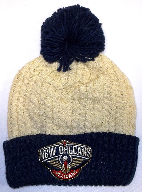 Amazon Com New Orleans Pelicans Cuff Pom Mitchell Ness