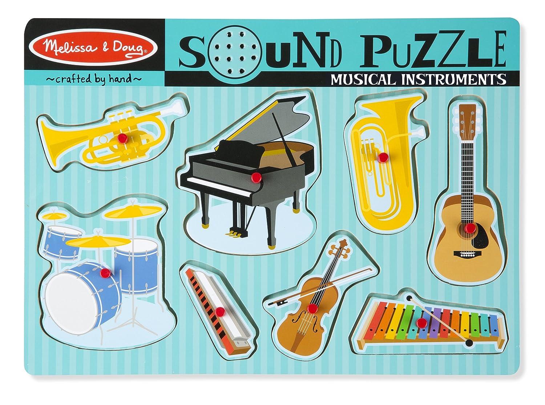 Amazon Melissa Doug Musical Instruments Sound Puzzle