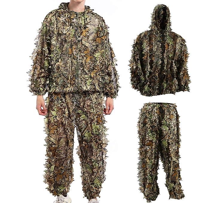 Amazon.com: Ghillie - Disfraz de camuflaje para Halloween ...