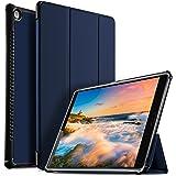 IVSO Huawei MediaPad M5 10.8 Cover Custodia, Slim Smart Cover Custodia Protettiva in pelle PU per Huawei MediaPad M5 10.8 Pro / M5 10.8 2018 Tablet, Blu