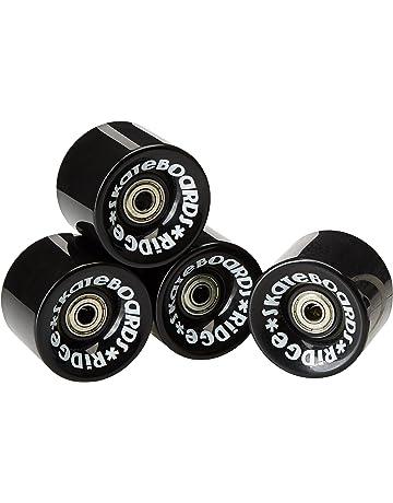 Ridge Cruiser - Ruedas de monopatín, Color Negro, tamaño 59mm