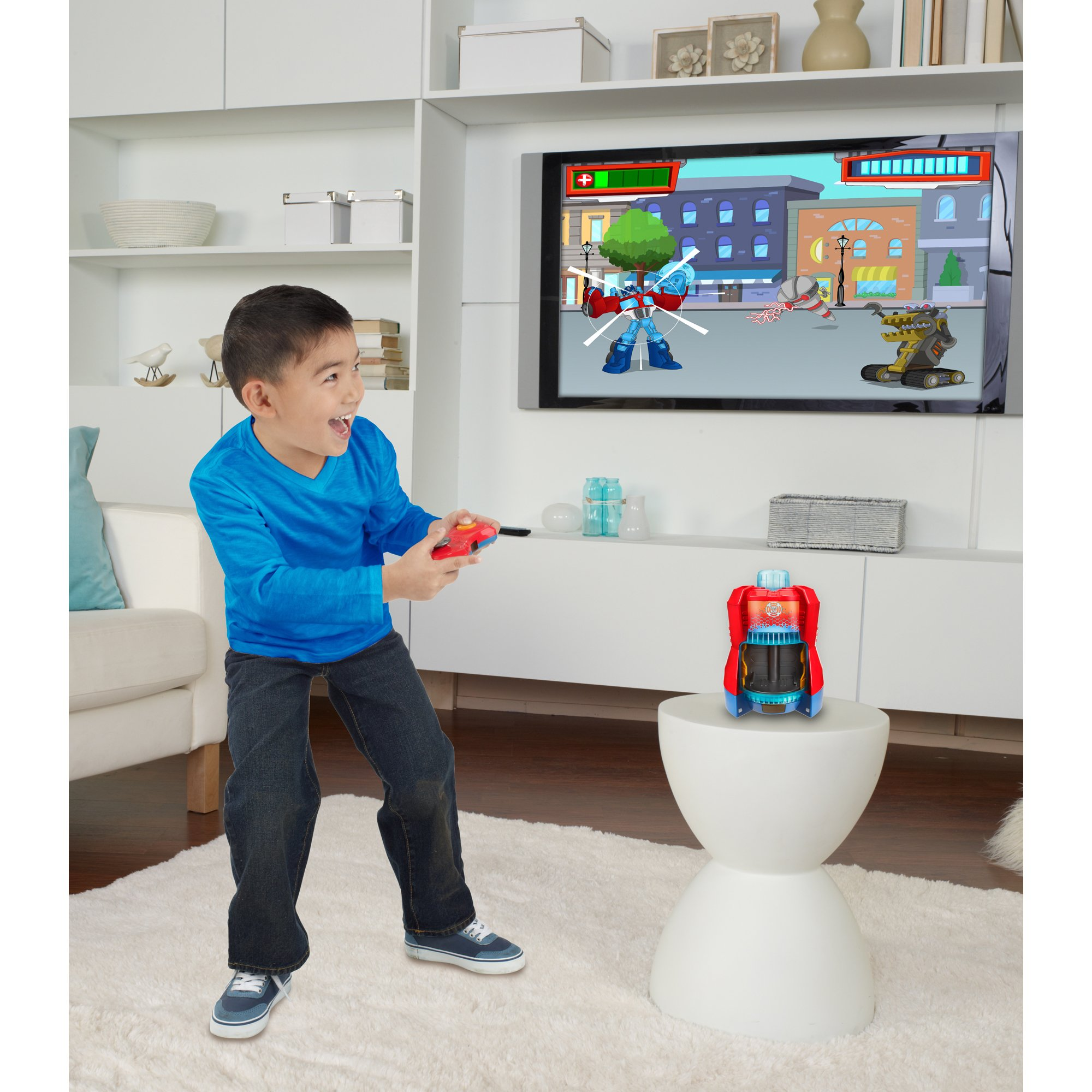 Playskool Heroes Transformers Rescue Bots Beam Box Game System by Transformers (Image #12)