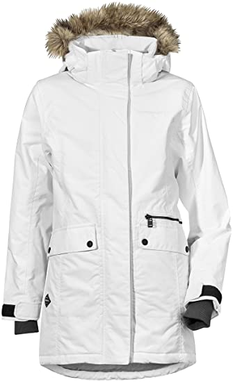 1f090dcd36d7 Didriksons Zoe Girls Parka  Amazon.co.uk  Clothing