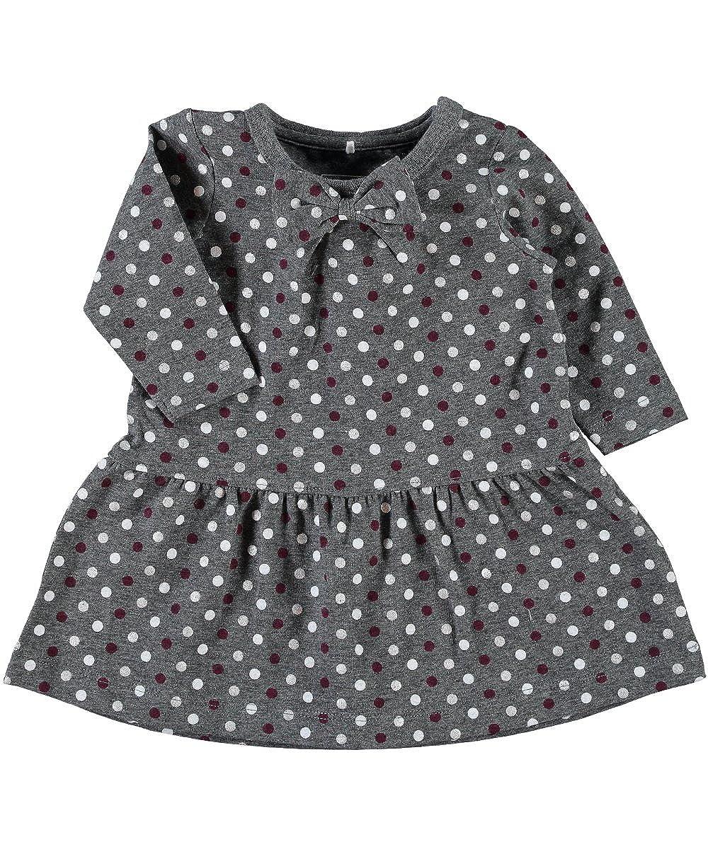 NAME IT Baby Mädchen Kleid, Nitpeggy, gepunktet Baby Mädchen Kleid Gr. 80 13127381