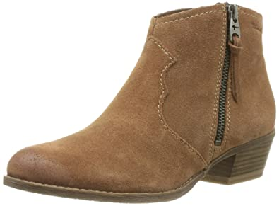 Details about Tamaris Womens UK Size 7 (EU 40) Brown Ankle Boots