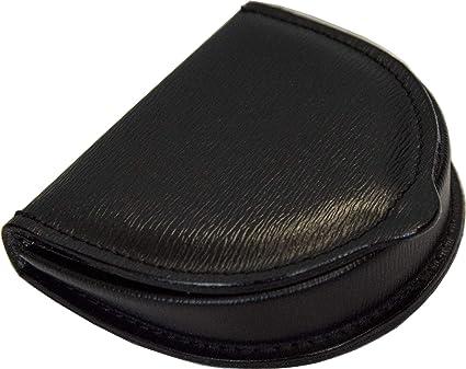 Monederos de Hombre Taconera Piel Genuina - Etabeta Artigiano Toscano - Made in Italy (Negro)
