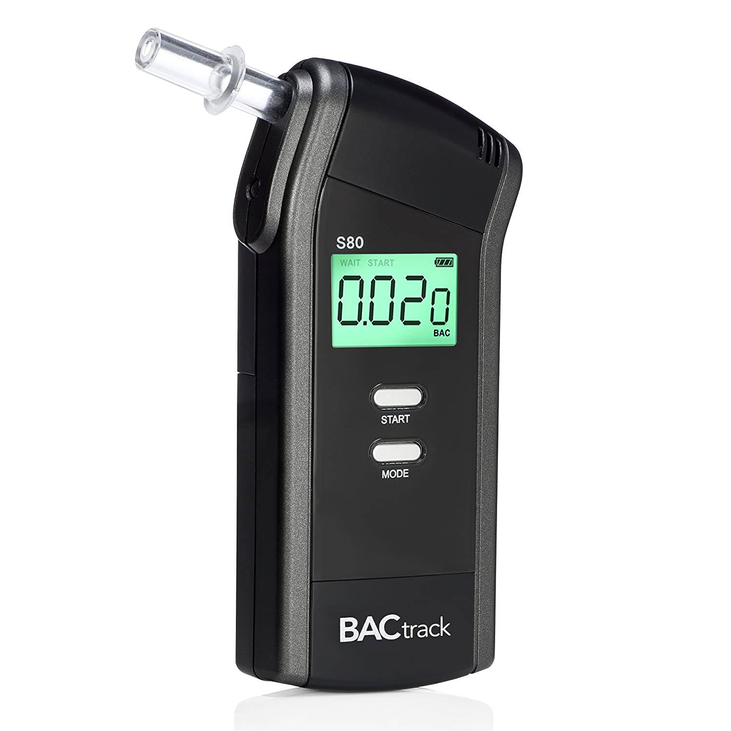 BACtrack S80 Breathalyzer | Professional-Grade Accuracy | DOT & NHTSA  Approved | FDA 510(k) Cleared