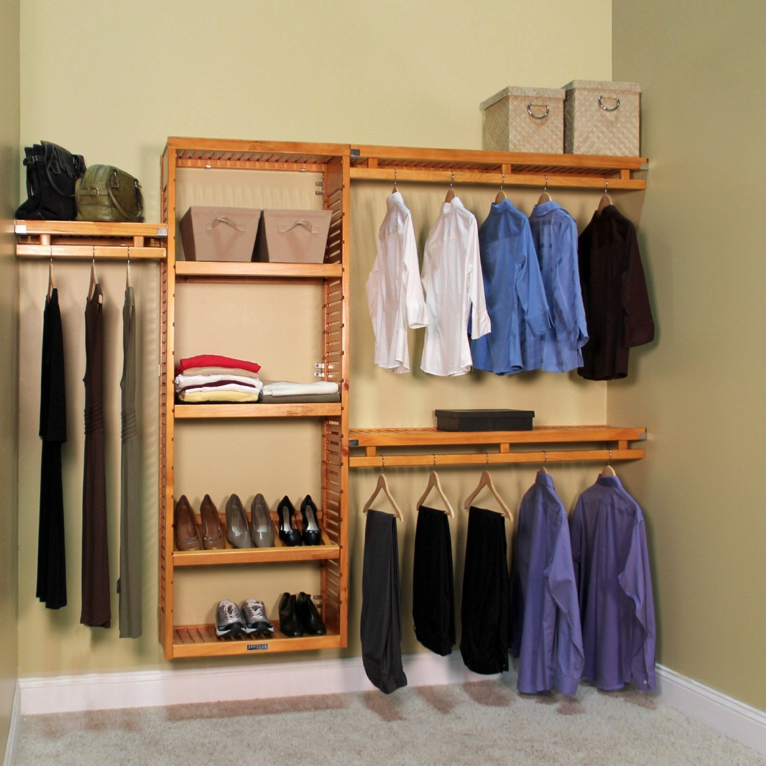 size shelves home impressions depot wood the kit shelf in design mesmerizing deluxe systems hutch and closet for organizer of organizers system full amusing white