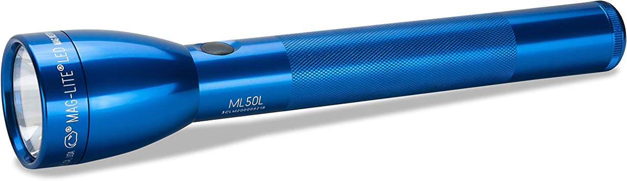 Black Maglite ML50L LED 3-Cell c Flashlight in Display Box