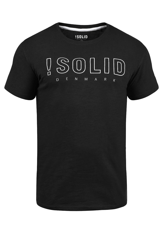 !Solid Camiseta Básica De Manga Corta con Estampado para Hombre con con Cuello Redondo con Gráfico: Amazon.es: Ropa y accesorios