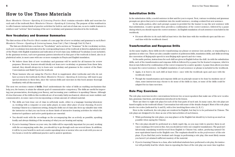 Amazon.com: Basic Mandarin Chinese - Speaking & Listening Practice ...