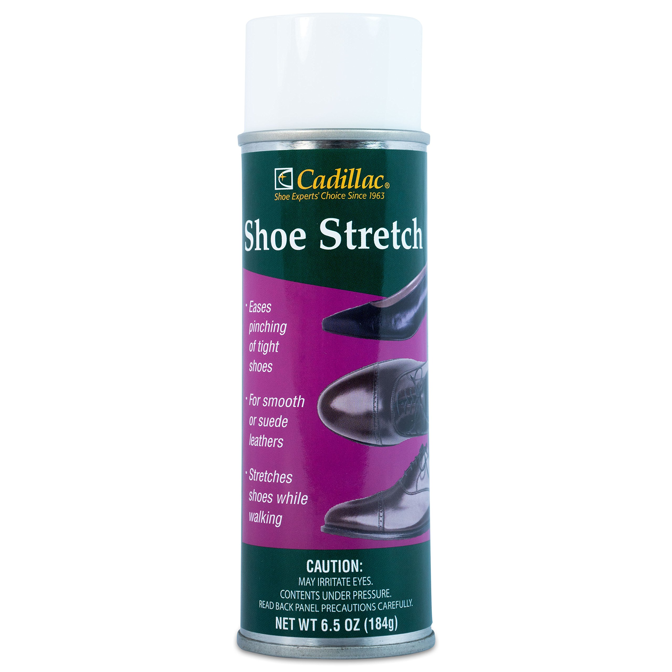 Cadillac Shoe Stretch Spray - Professional Boot & Shoe Stretcher & Softener for Women and Men | Stretch Leather, Suede, Nubuck and Other Footwear for Wide Feet