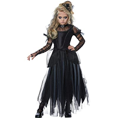 Dark Princess Costume for Kids: Toys & Games