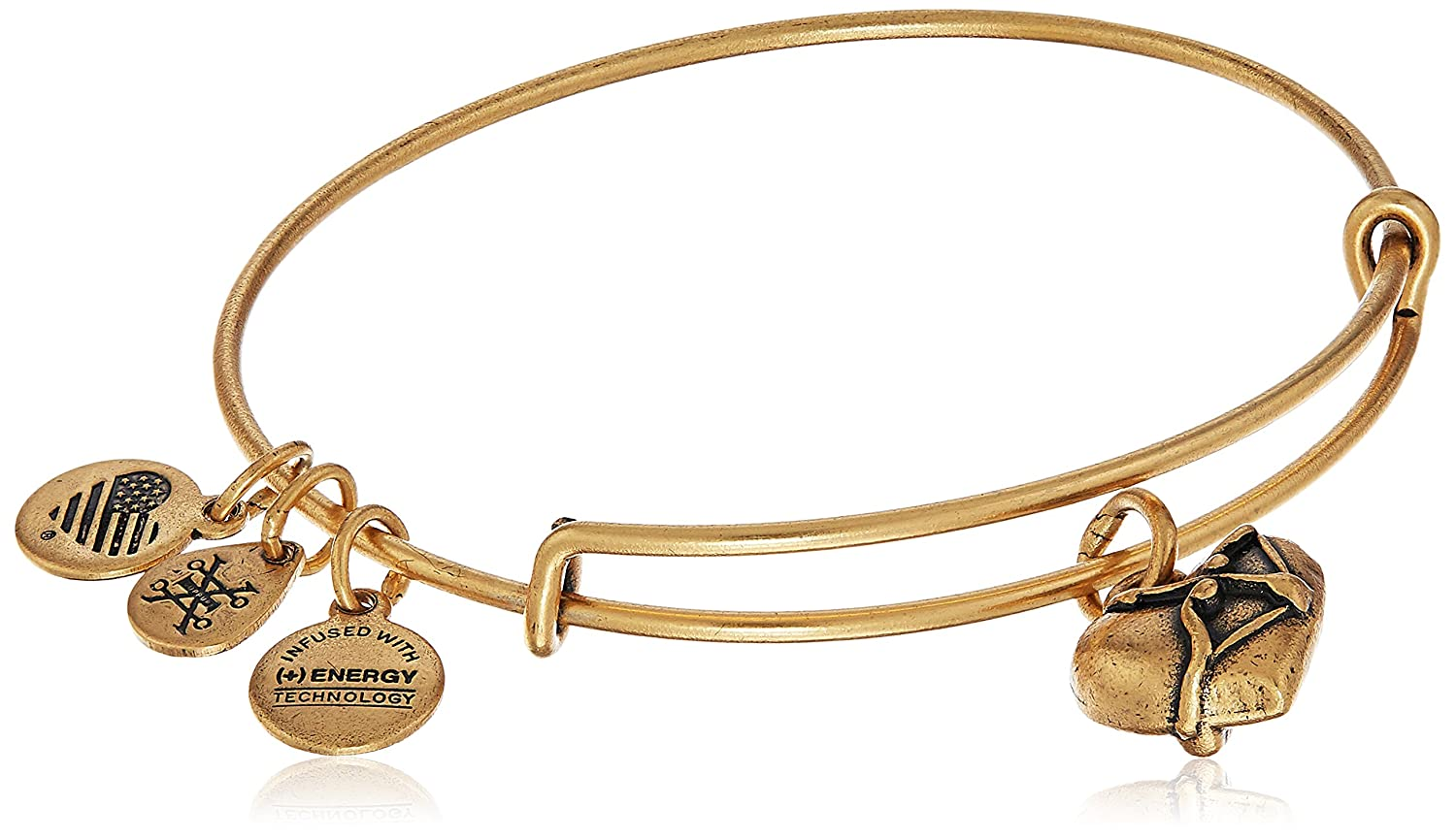 Alex and ANI Pineapple III Bangle Bracelet, Expandable A17EB02RG