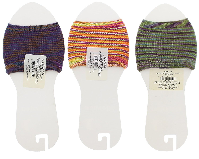B.Ella Nouvella Women/'s Cotton Blend Open Toe Sandal Ring Socks