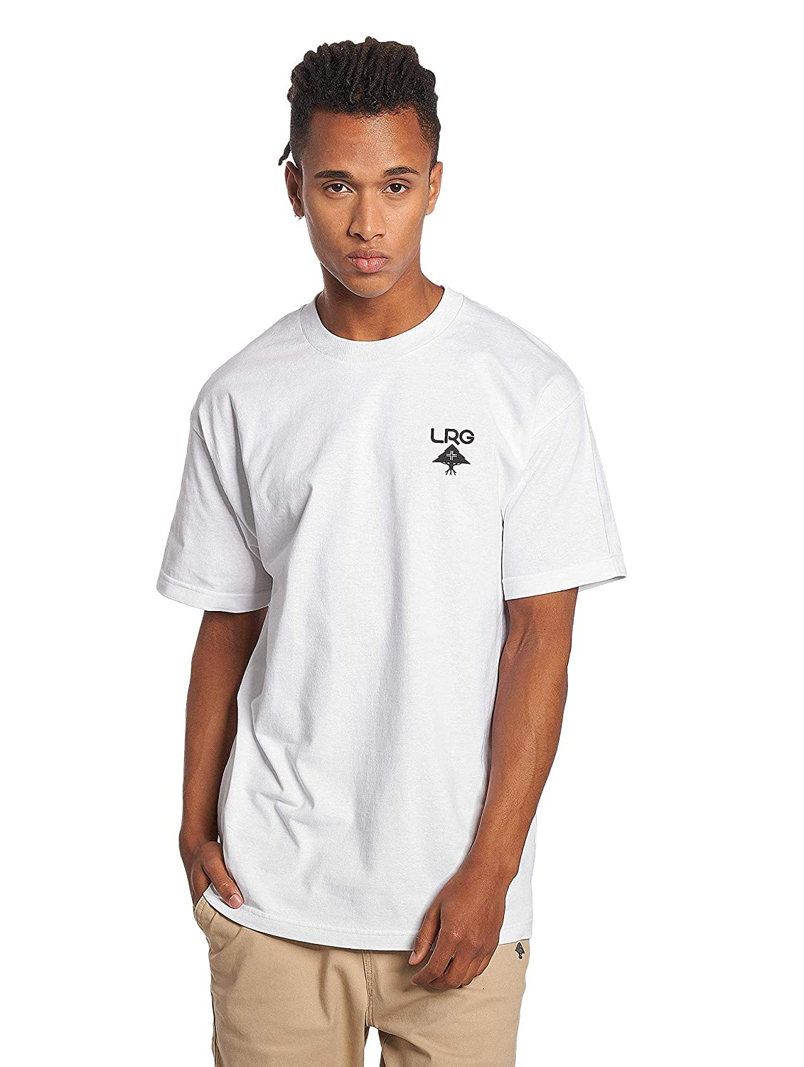 LRG Mens Lifted Research Collection Graphic Design T-Shirt