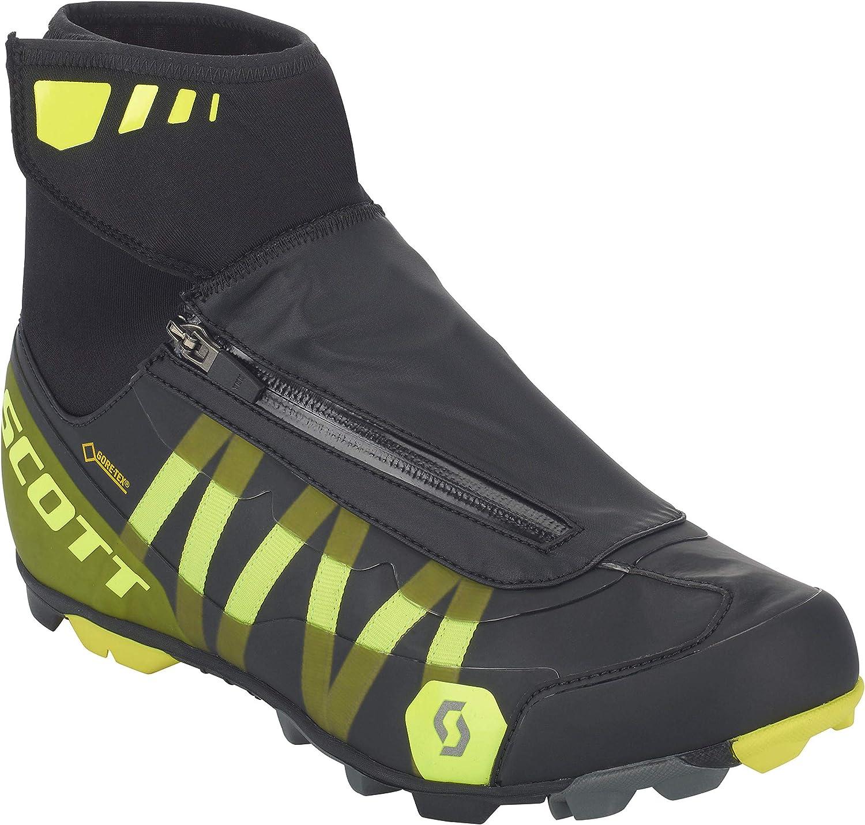 Scott VTT Heater Gore-Tex Chaussures de v/élo noir//jaune 2018
