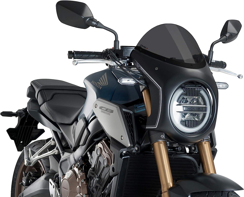 CB650R 19-20 NEO Sports C//Dark Smoke Puig 3133F SEMIFAIRING C//Black Honda CB1000R 18-20