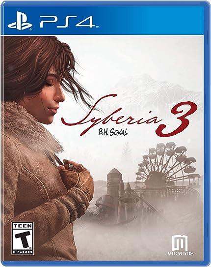 Syberia 3 - PlayStation 4 Standard Edition ... - Amazon.com