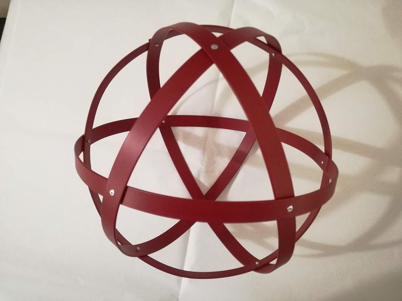 Genesa Crystal, Purificatore energia, Dispositivo orgonico 32 cm diametro Rossa