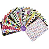 Asian Hobby Crafts A4 60 GSM Printed Sheets - Pack of 60