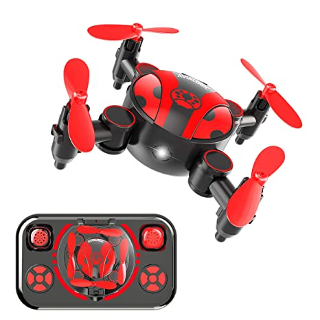 AVIALOGIC Mini Drone Plegable para niños y Principiantes,2.4GHz ...