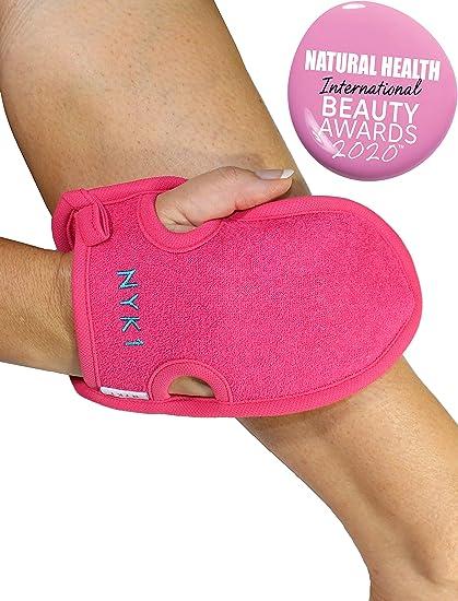 Exfoliating Body Scrub Exfoliator Glove Eraser Mitt Loofah Dry