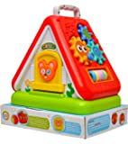 Toyshine Funny House with Multi-Purpose Learning, Numbers, Shapes, Colors, Letters and Much More