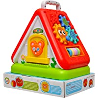Toyshine Funny House with Multi-Purpose Learning, Numbers, Shapes, Colors, Letters and Much More (Multicolour)