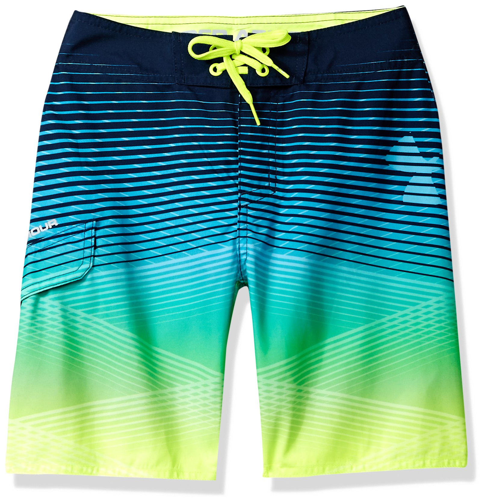 Under Armour Big Boys' Boardshort, Arena Green, 20