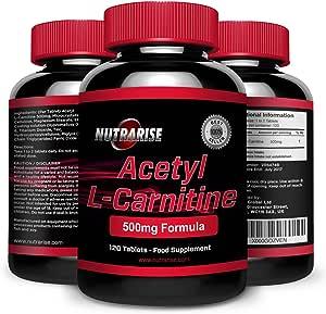 L Carnitina, el Mejor Suplemento para la Pérdida de Peso y Aminoácidos Deportivos, Potente Inhibidor del Apetito y Quemador de Grasa, Incrementa el ...