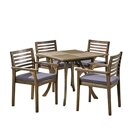 Gray Outdoor Patio Dining Sets