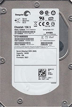 "Seagate 146GB 3.5/"" Hard Drive ST3146855SS 15000 RPM SAS"