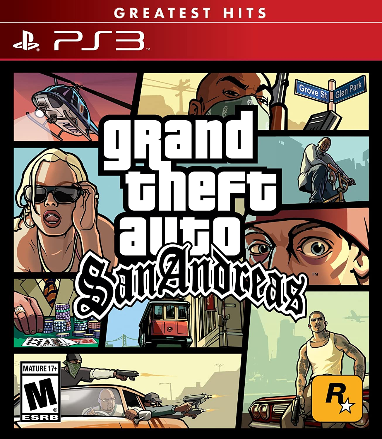 Amazon Com Grand Theft Auto San Andreas Playstation  Interactive Video Games