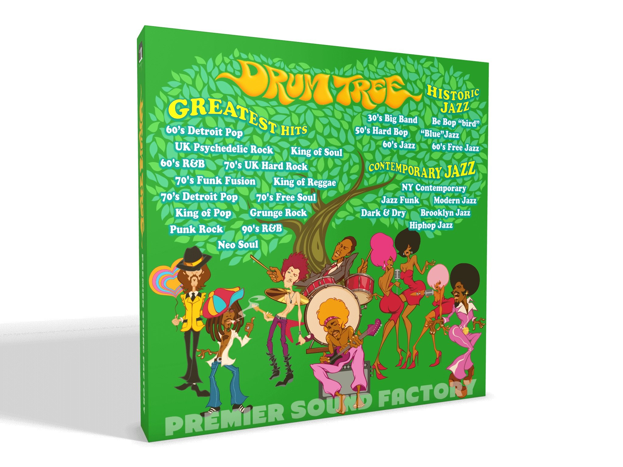 PREMIER SOUND FACTORY Drum Tree Box