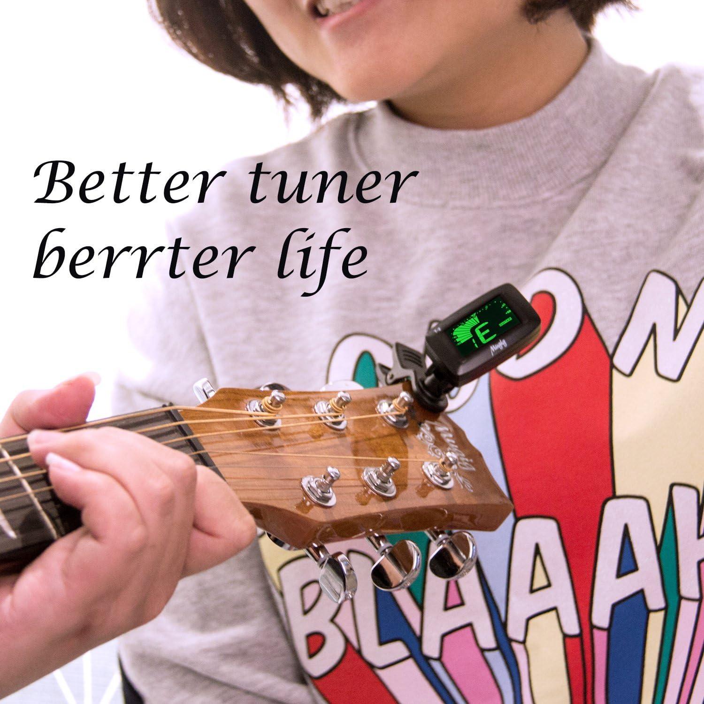Mugig Afinador Clip Para Guitarra Bajo Violín Ukulele Modos ...