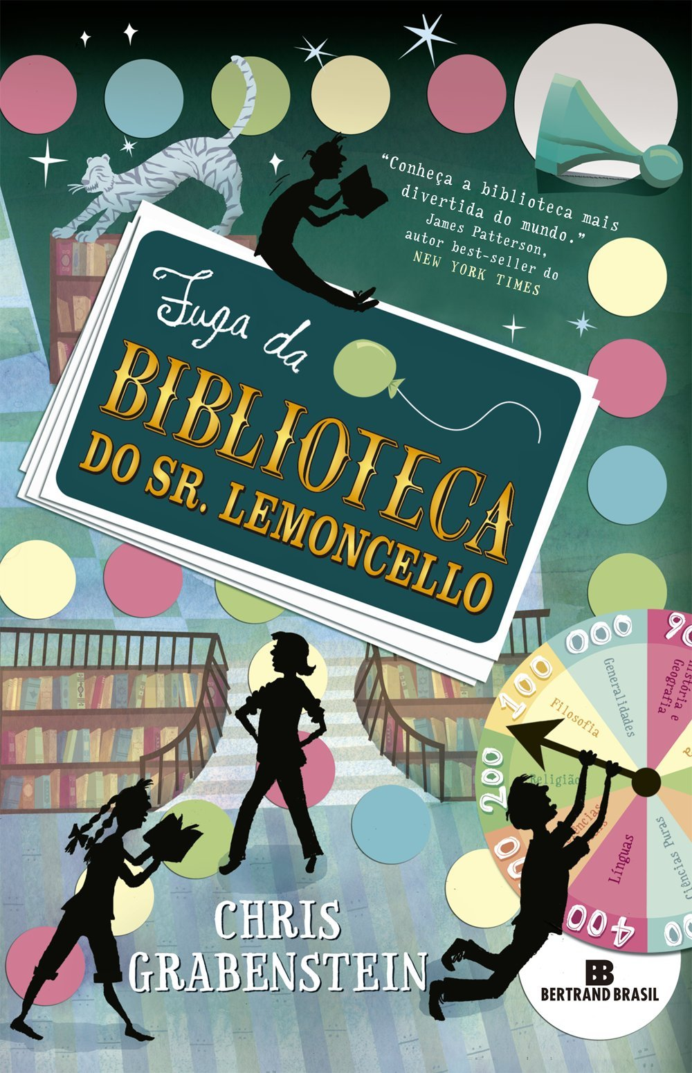 Resenha - Fuga da Biblioteca do Sr. Lemoncello