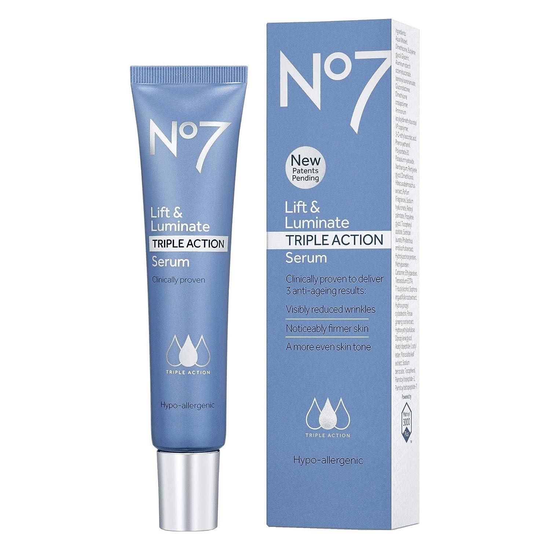 No7 Lift Luminate Triple Action Serum 50 Ml Extra Large 66 More No 7 Beauty Cream Amazon In Beauty