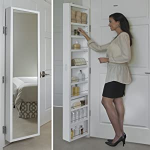 Cabidor Mirrored Storage Cabinet (CAB00405)