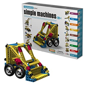Amazon Com Engino Simple Machines Construction Set Toys Games