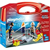 """PLAYMOBIL """"Fire"""" Carrying Case, Large"""