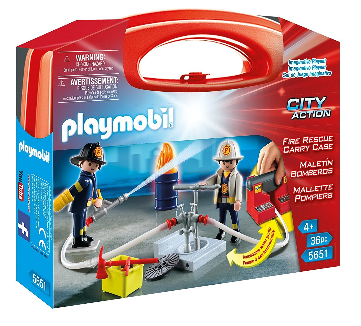Save 53% on Playmobil Fire Res...