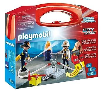 Playmobil Bomberos Playset Miscelanea 5651