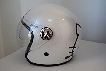 AXO CASCO MOTO INFANTIL JET HELLO KITTY