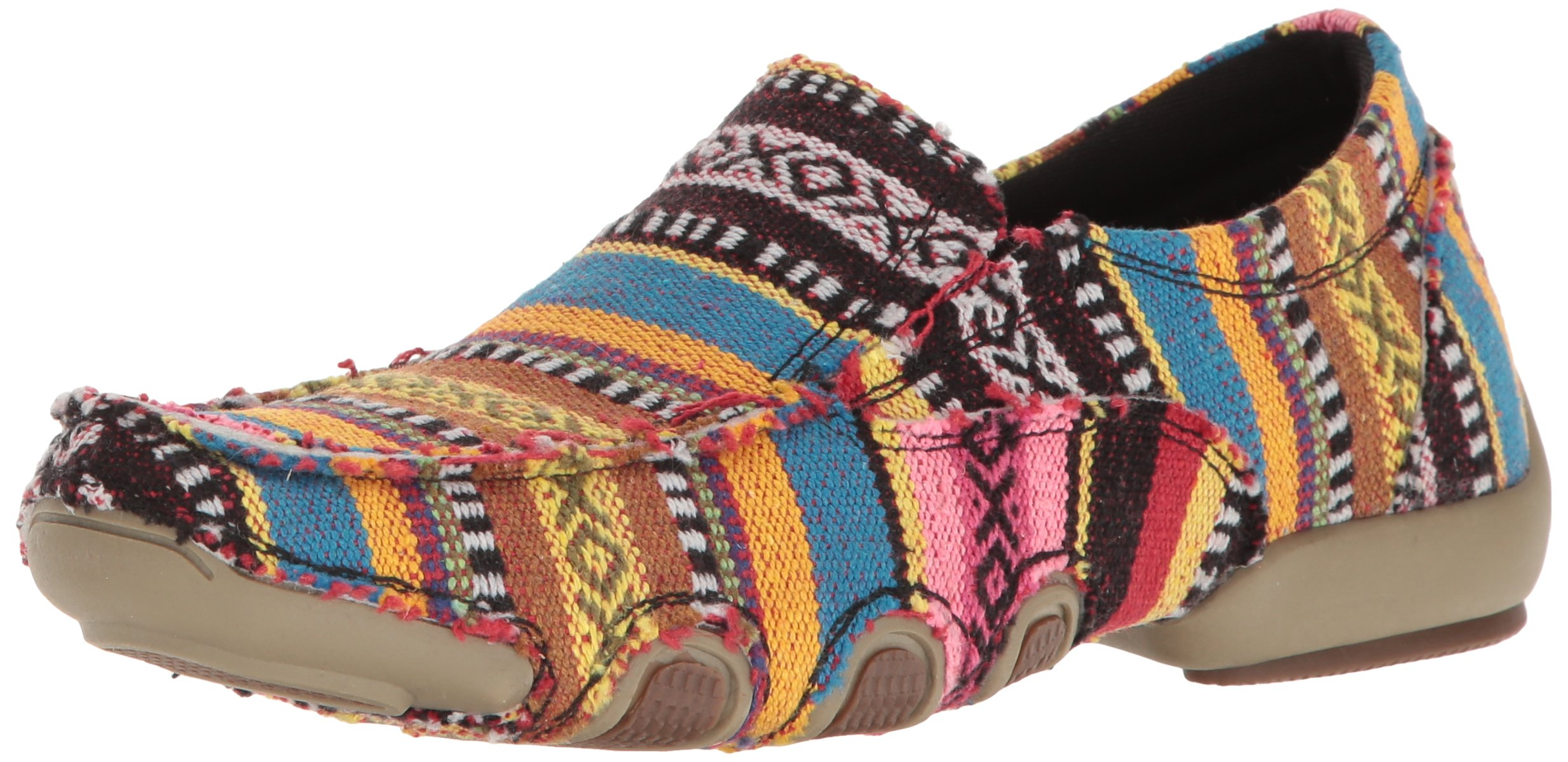 Roper Women's Liza Driving Style Loafer, Multi, 9 Medium US