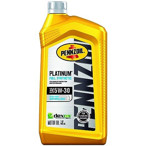 Pennzoil Near Me >> Pennzoil Platinum Full Synthetic Motor Oil 5w 30 1 Quart Pack Of 6